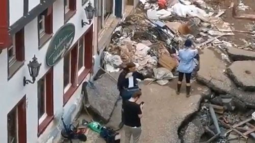 Flutkatastrophe: RTL beurlaubt Reporterin wegen offenbar gestellter Schmutzbilder