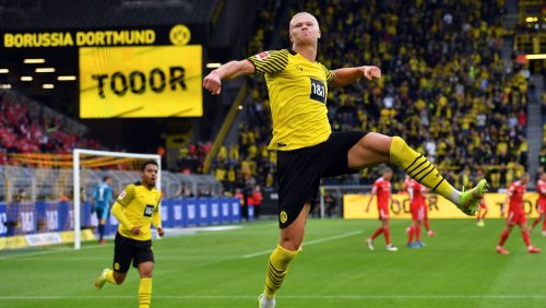 Fußball-Bundesliga: Haaland trifft doppelt – Dortmund begeistert gegen Union Berlin