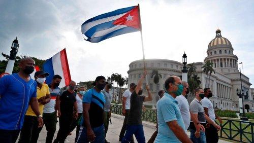 Nach Unterdrückung von Protesten: USA verhängen weitere Sanktionen gegen Kuba