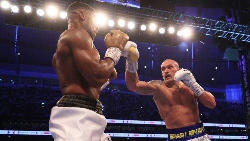 Box-WM vor mehr als 60.000 Fans: Usyk besiegt Joshua und ist neuer Weltmeister im Schwergewicht