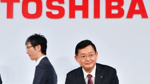Nach Übernahmeangebot: Toshiba-Chef verlässt überraschend den Konzernvorstand