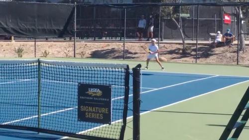 Zwölfjähriges US-Tennis-Phänomen Teodor Davidov: Immer Vorhand, immer feste druff