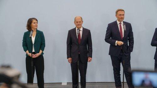 Koalitionsverhandlungen: Worum SPD, Grüne und FDP in den Ampelgesprächen ringen