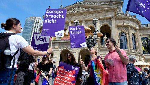 Kleinpartei Volt: Wahlkampf als Politik-Start-up