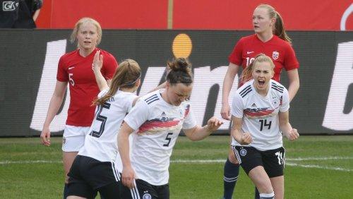 DFB-Sieg gegen Norwegerinnen: Entwicklung auf dem Platz. Aber daneben?