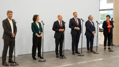 Einigung auf Koalitionsverhandlungen: Das erste Ampelwunder