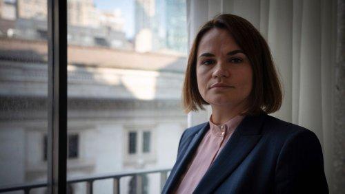 Zeichen an Lukaschenko: Biden empfing belarussische Oppositionsführerin Tichanowskaja im Weißen Haus