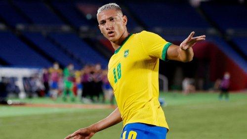 Olympisches Fußballturnier: Brasilien zeigt Deutschland, wie ein Goldfavorit spielt