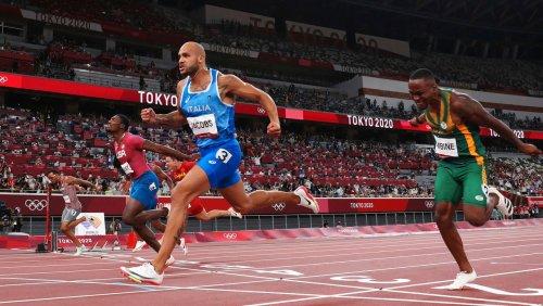 Lamont Marcell Jacobs sprintet zu Gold über 100 Meter