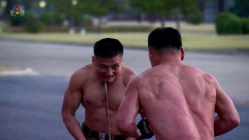 Nordkorea: Schmerzhafte Show für Kim Jong Un