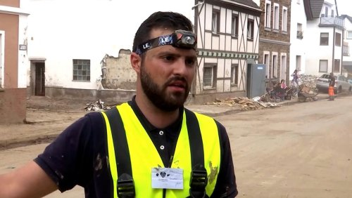 Syrische Helfer in Ahrweiler: »Egal was, wir sind dabei!«