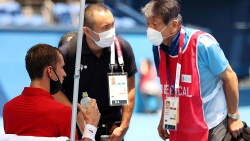 Extremhitze bei olympischem Tennisturnier: »Übernehmen Sie die Verantwortung, wenn ich hier sterbe?«