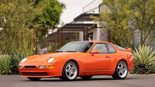 Porsche 968 Turbo S unterm Hammer: Palastrevolte in Blutorange