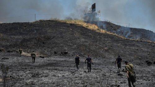 Nahost: Israel greift nach Raketenbeschuss Ziele im Libanon an