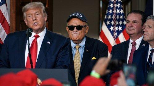 New Yorks ehemaliger Bürgermeister Rudy Giuliani: Vom Helden des 11. September zum amerikanischen Clown