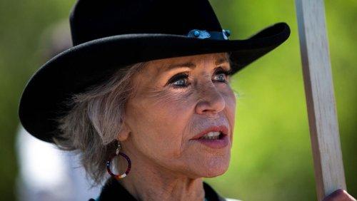 83-jährige Oscar-Preisträgerin: Jane Fonda trainiert für Protestaktionen