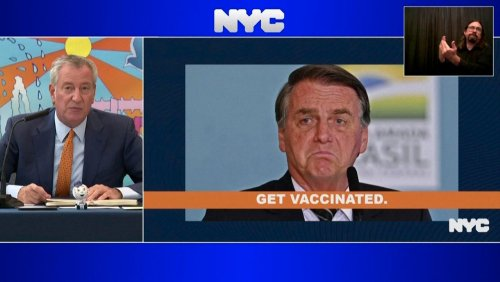 New Yorks Bürgermeister an Bolsonaro: »Wenn Sie sich nicht impfen lassen wollen, brauchen Sie nicht zu kommen«