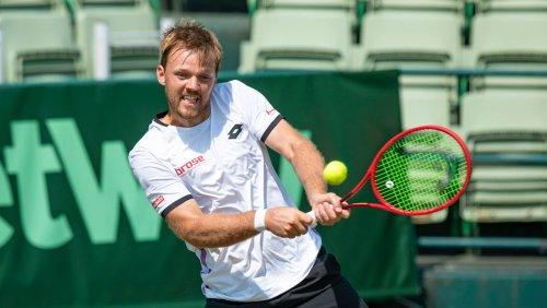 Tennisturnier in Halle: Doppelspezialist Krawietz mit erstem Sieg auf Rasen