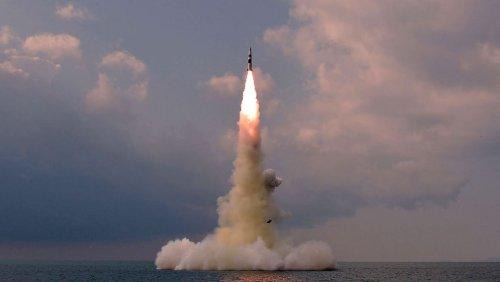 Aufrüstung: Nordkorea feuerte ballistische Rakete von U-Boot ab – Uno-Sicherheitsrat tagt