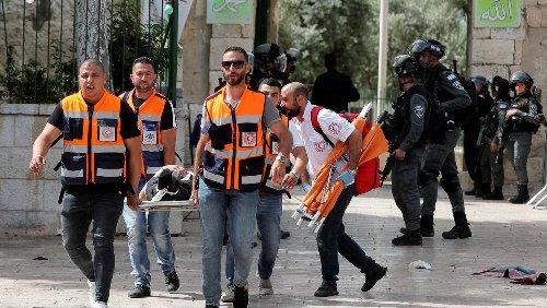 Jerusalem: Wieder schwere Krawalle auf dem Tempelberg – viele Verletzte