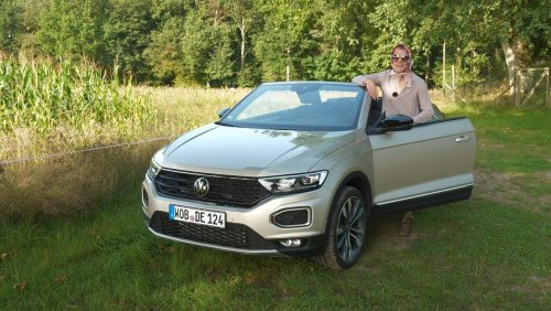 Wir drehen eine Runde: VW T-Roc Cabrio: Ein SUV lässt die Hüllen fallen