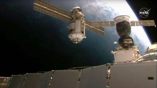 Zwischenfall im All: Russisches Modul schiebt Internationale Raumstation aus der Bahn