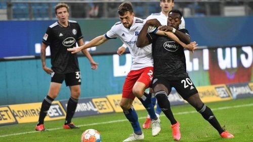 Hamburger SV gegen Fortuna Düsseldorf: DFB ermittelt nach rassistischen Anfeindungen in der Zweiten Liga