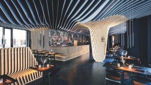 Ausgezeichnete Gastronomie-Designs: Glänzende Aussichten