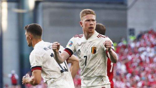 Belgien schlägt Dänemark bei Fußball-EM: Dänemark trifft nach 99 Sekunden – aber de Bruyne dreht das Spiel