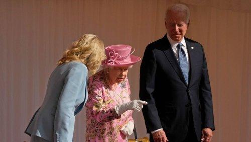 Joe Biden über Empfang bei der Queen: »Sie erinnerte mich an meine Mutter«