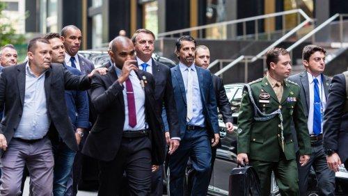 Vor Uno-Generaldebatte in New York: Bolsonaro muss Pizza auf der Straße essen