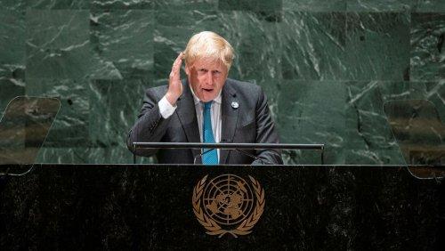 »Kermit lag falsch«: Johnson hält absurd-komische Rede vor der Uno-Vollversammlung