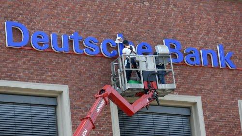 Filialen werden eingespart: Deutsche Bank macht allein in NRW 37 Standorte dicht