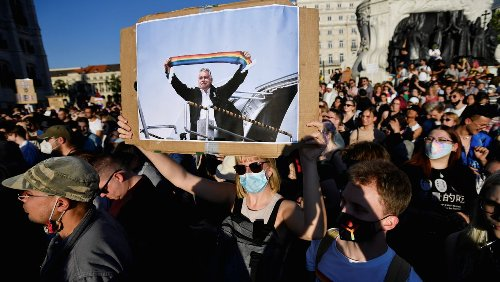 Betroffene von Anti-LGBTQ-Gesetz in Ungarn: »Früher waren es die Flüchtlinge, dann die Roma, nun ist die LGBTQ-Community dran«