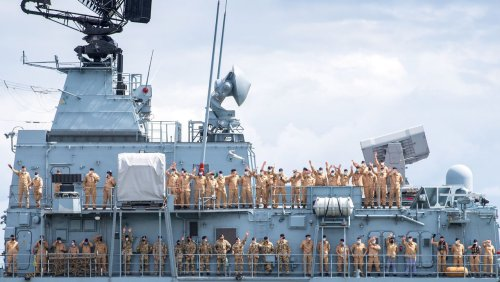 Auswärtiges Amt: China verweigert deutschem Schiff Einfahrt in Hafen