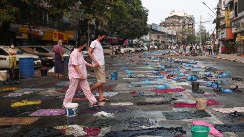 Kriegsrecht in Teilen Yangons verhängt: Bislang blutigster Tag in Myanmar