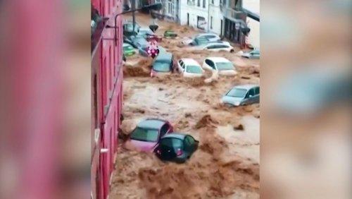 Überschwemmungen in Belgien: »Das Wasser kam so schnell«