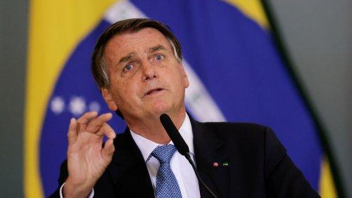 Ungeimpft: Brasiliens Präsident darf nicht zum Fußball