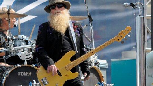 Im Alter von 72 Jahren: ZZ-Top-Bassist Dusty Hill ist tot