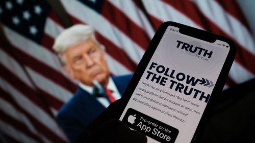 Börsenpläne des Ex-Präsidenten: Trump-Fans treiben Aktienkurs von möglicher »Truth Social«-Firma