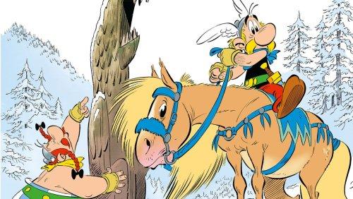 Erster Comic seit dem Tod von Zeichner Uderzo: Asterix und Obelix prügeln sich durch die Taiga