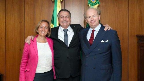 AfD-Vizechefin in Brasilien: Präsident Bolsonaro hat Beatrix von Storch empfangen