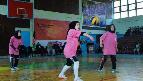 Herrschaft der Taliban: Afghanistans Volleyball-Nationalspielerinnen fürchten um ihr Leben