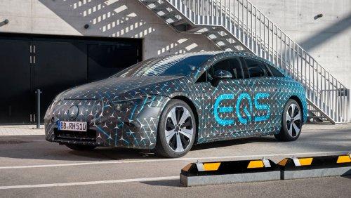Erste Fahrt im Mercedes EQS: Mit diesem Auto will Daimler Tesla attackieren