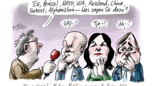Cartoons der Woche: Laschets Ampel-Angst