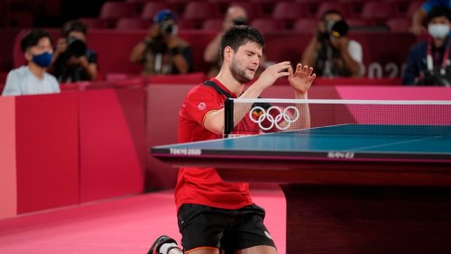 Bronzemedaille für Dimitrij Ovtcharov: Das glückliche Ende der zweiten Tischtennis-Nervenschlacht