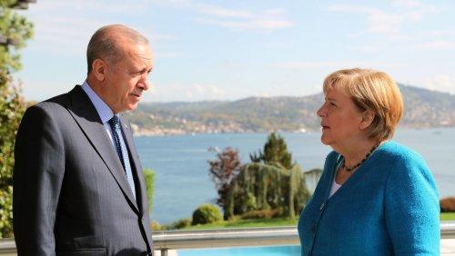 Abschiedsbesuch von Merkel in der Türkei: »Wir haben hier noch eine Menge Schwierigkeiten zu überwinden«