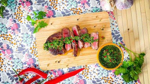 Nervennahrung: Heute gibt es Steak mit Chimichurri