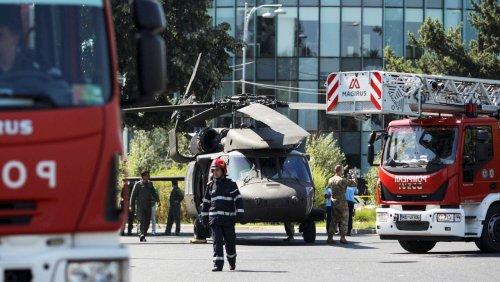 Rumänien: US-Militärhubschrauber muss im Stadtverkehr von Bukarest notlanden