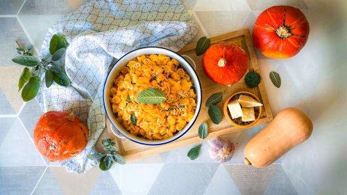 Nervennahrung: Heute gibt es Kürbis-Pasta